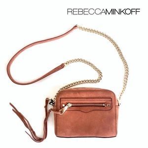 Rebecca Minkoff Leather Camera Crossbody Bag